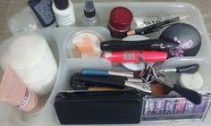 Casinha Bonitinha: Organizando a maquiagem (e algumas ideias para um organizador de talheres)