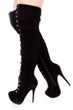 Thigh High Platform Boots, Thigh High Boots Heels, Heeled Boots, Gladiator Boots, Sneaker Heels, Sexy Boots, Dream Shoes, Fashion Boots, Witch Outfit