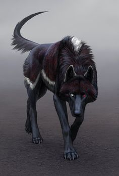 Marah, a powerful, and dangerous hellhound. She lives in the wild, and even the werewolves fear her. She is the pet of Lucifer as well. She is dangerous, and powerful. She tends to kill for pure fun, and will only follow Lucifer's commands. She can kill other demons, and even the unkillable. She's the sister of Balavan, and has two different colored eyes.