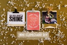 Mini Clipboard DIY | happy together