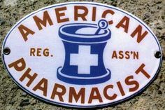 American Pharmacist Door Push