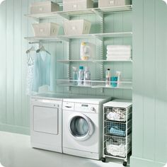 the perfect robin's egg blue from the container store ad... Centsationalgirl.com