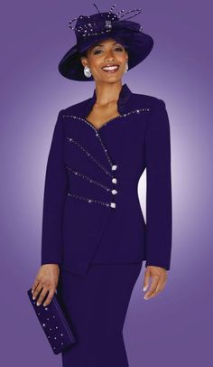 Church Clothes For Women   Ladies Church Suits BenMarc Fifth Sunday Suit 52510 image