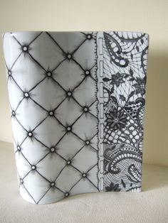 Lace on porcelain by Olivia Guez
