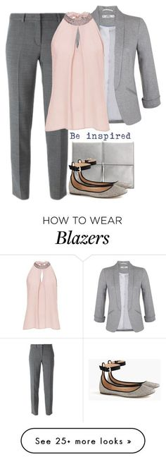 """""""Casual Office Style"""" by cloudybooks on Polyvore featuring Ivanka Trump, J.Crew,..."""