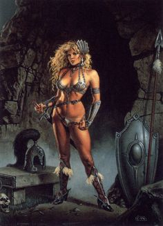 Selene, Guardian of the Sanctuary-Clyde Caldwell