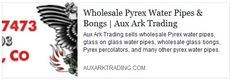 Aux Ark Trading sells wholesale Pyrex water pipes, glass on glass water pipes, wholesale glass bongs, Pyrex percolators, and many other pyrex water pipes. Glass Water Pipes, Pipes And Bongs, Glass Bongs, Pyrex, Healthy, Projects, Get Skinny Fast, Log Projects, Blue Prints