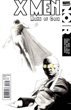 X-Men Noir: Mark of Cain # 4 (Variant) by Dennis Calero Comic Book Covers, Comic Books, Mark Of Cain, Kitty Pryde, American Comics, Marvel Universe, X Men, Cover Art, Marvel Comics