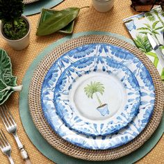Potted Palms China Paper Dinner Plates - 8 Per Package Wedding Flower Arrangements, Flower Bouquet Wedding, Floral Arrangements, Bridal Bouquets, Masquerade Centerpieces, Wedding Centerpieces, Place Settings, Table Settings, Potted Palms
