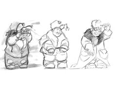 By Mike Cedano, Disney artist. Animation Sketches, Disney Artists