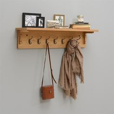 Oakland 7 Hook Coat Rack (C262) with Free Delivery | The Cotswold Company - 608.035