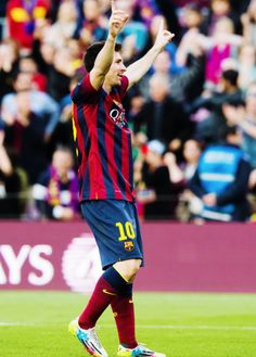 Lionel Messi, Barcelona all-time record goal scorer. And only 26years old, what a phenom!