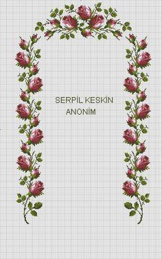 Cross Stitch Rose, Bullet Journal, Cumin Plant, Needlepoint, Cross Stitch, Embroidery, Ideas