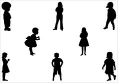 loving mother and child silhouette showing love vector download rh pinterest com child silhouette vector free download jumping child silhouette vector
