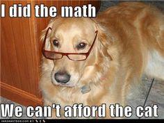 Do the math...  @Karen Myers       Queen Lucy said!!