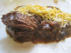 tito's tacos copy cat shredded beef. melts in your mouth! made 4/18!