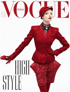 High Style by Steven Meisel, October 2010