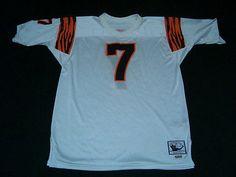 Bengals Ness And A4d2f Cincinnati Road Authentic Store Boomer Mitchell 7 White Esiason 5ca8c Throwback Jersey|Sports In Israel
