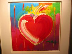 peter max heart