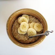 Brown Butter Banana Oatmeal