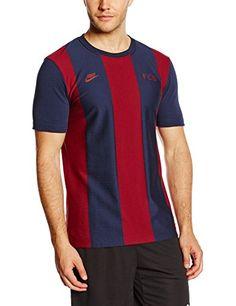 NIKE kurzarm Shirt FC Barcelona Covert Top - Camiseta de equipación de fútbol para hombre, color multicolor (obsidian/team red), talla l #camiseta #starwars #marvel #gift