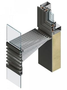 Aluminum ventilated facade DOUBLE-SKIN FEAL Croatia Ltd.