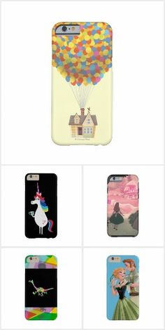 Disney iPhone and Samsung Galaxy Cases - each design is available on multiple smartphones