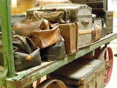 ○ old luggage