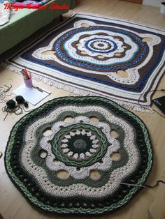 Irish crochet &: CROCHET RUG