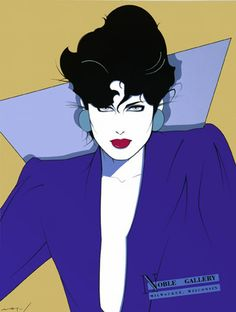 patrick nagel | Patrick Nagel moment | lemon lips