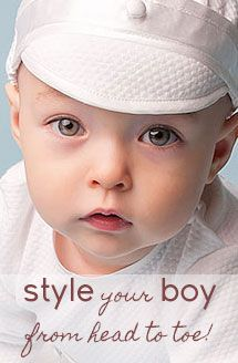 Baby Boy Jacket - Ethan Christening & Baptism Collection