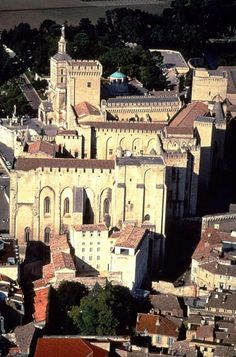 ♔ Palais des Papes  ~  Avignon.  This was a brief stop on a day trip, but we toured the palace and did a little shopping