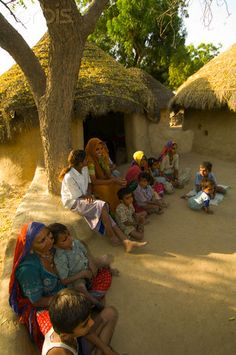 Socializing in the Shade , India