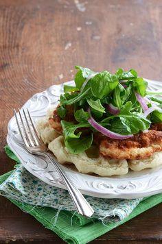 Chicken Recipe: Chicken And Biscuit Waffles Recipe