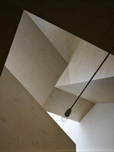 Coffey Architects' Folded House. Image © Timothy Soar