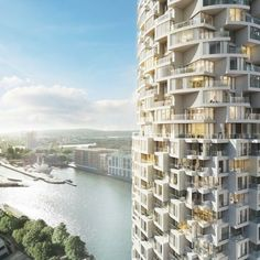 One Wood Wharf - London - Architect : Herzog & de Meuron