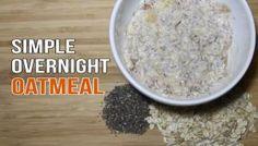 WATCH: Healthy Overnight Oatmeal