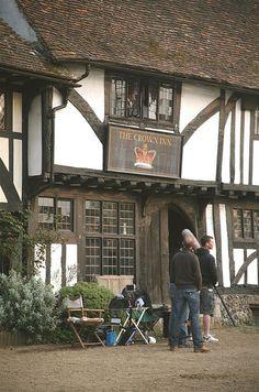 Filming of Jane Austen's 'Emma' For BBC1 in Chilham Village, Kent 'Highbury' by Steve Weaver, via Flickr