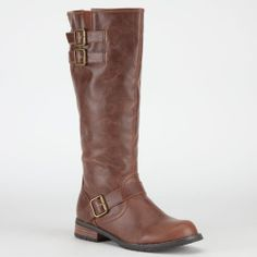 CITY SNAPPERS Womens Riding Boots