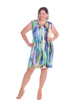 Zauberhafte Plus Size Kleider von Design for you. Big Size Fashion, Austria, Lily Pulitzer, Plus Size, Summer Dresses, How To Make, Design, Fashion Plus Sizes, Handmade