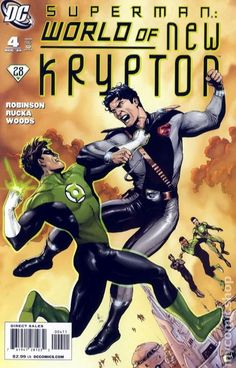 Superman World of New Krypton (2009) 4A