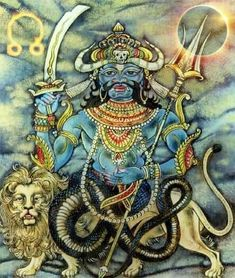 Know about the symbolic meaning of Rahu & Ketu . Visit here