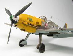 Messerschmitt Bf 109E-4 1/48 Scale Model