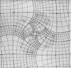 Impossible world: Articles: M.C. Escher: More Mathematics Than Meets the Eye. Escher's distorted grid and how he achieved impossible perspective.