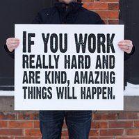 Amazing Things Will Happen Print