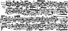 """Sylvano Bussotti (1931~)   """"Pour Clavier""""[après Pièces de chair II] (1961)"""