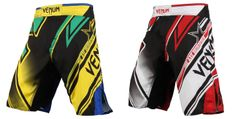 """For fans of Wanderlei Silva, your ideal shorts have arrived in the form of these new Venum Fight Shorts for """"The Axe Murderer's"""" showdown at UFC 175 agains Ufc, Fight Shorts, Mma Gear, Compression Shorts, Mixed Martial Arts, Rash Guard"""