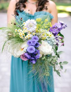 whimsical pastel bouquet