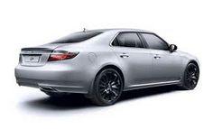 2013 Saab 9-5 w/Black Rims