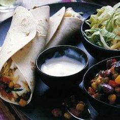 Mexican bean burritos @ allrecipes.com.au